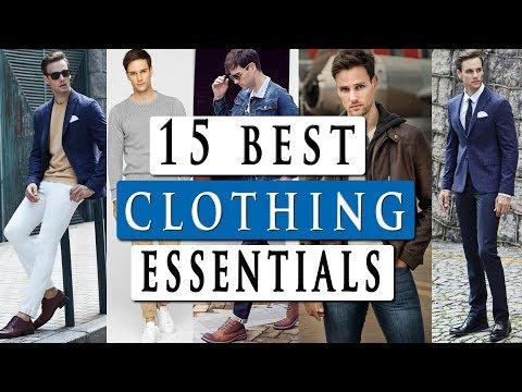15 basic CLOTHING ESSENTIALS for men | by male model DANIEL MARITZ