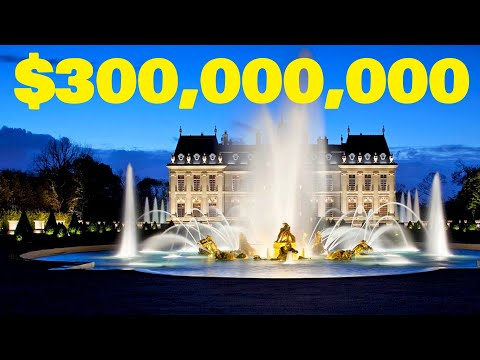 Inside the Most Expensive Home in the World | $301 Million French Chateau