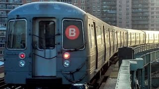 mta not in service r68 a b train bypassing west 8th street ny aquarium