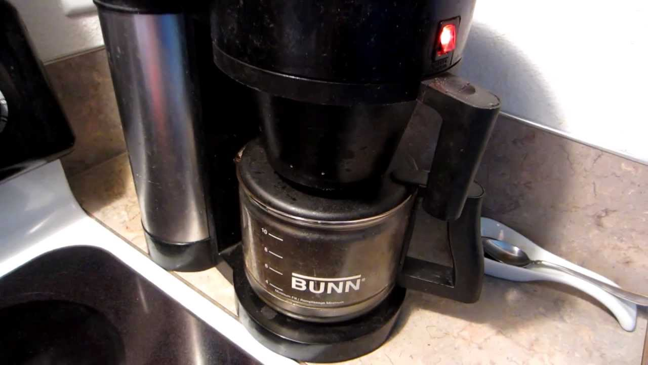Bunn Coffee Maker Fix : How to FIX a Bunn coffee maker that starts brewing BEFORE you pour the water in! - YouTube