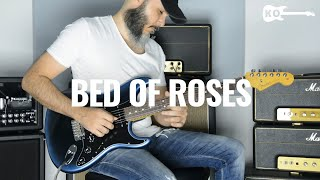 Bon Jovi - Bed of Roses - Electric Guitar Cover by Kfir Ochaion - Fender American Pro II