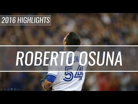 Roberto Osuna - Toronto Blue Jays - 2016 Highlight Mix HD