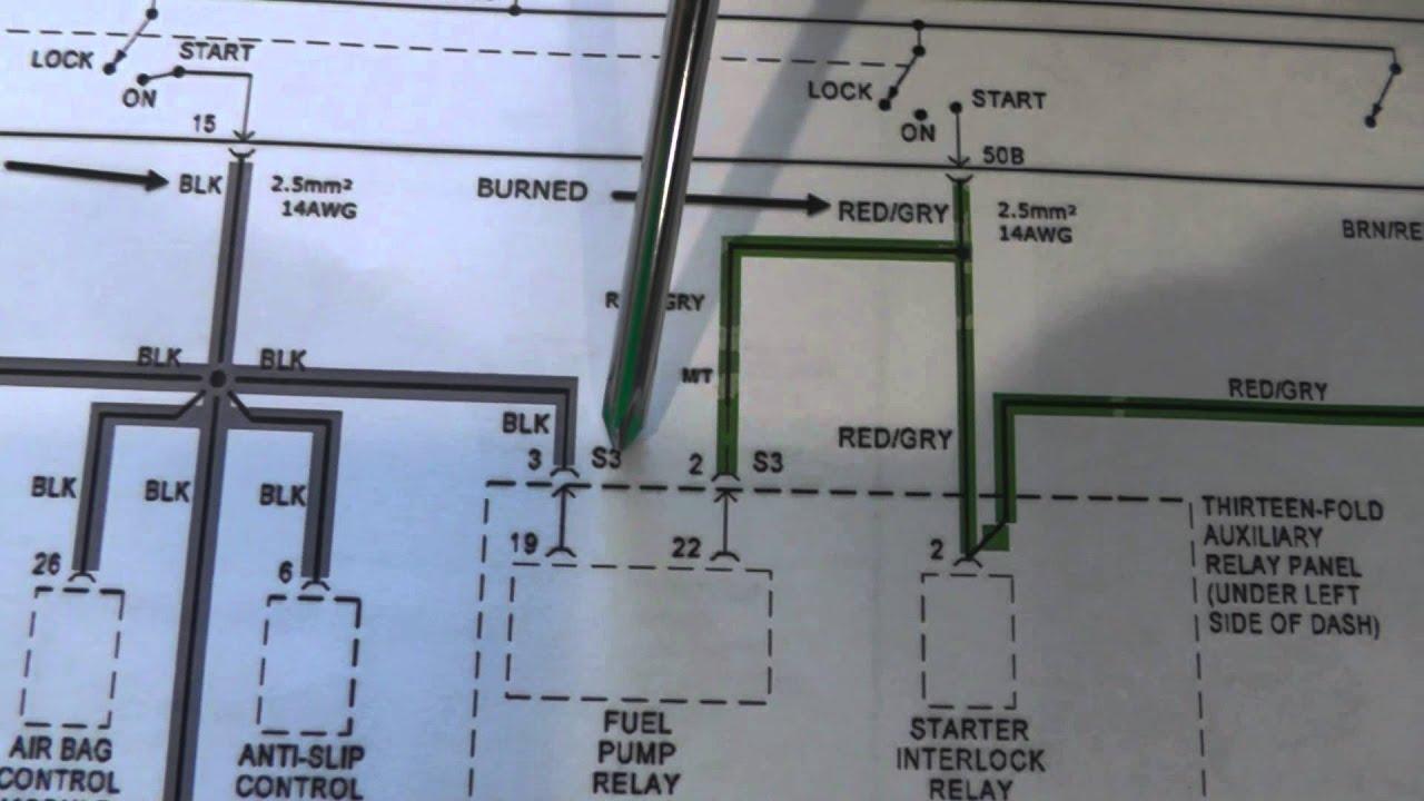 04 passat fuel pump wiring diagram