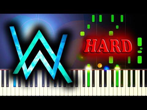 ALAN WALKER - ALL FALLS DOWN - Piano Tutorial