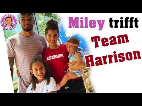 Von SARAH HARRISON ÜBERRASCHT   TEAMHARRISON besucht Miley  Mileys Welt