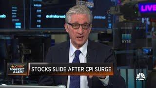 Stocks slide after CPI surge