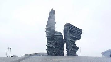 Katowice, Poland - The Spodek Arena