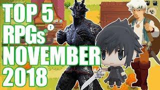Top 5 NEW RPGs Of November 2018