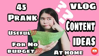 45 USEFUL&LATEST PRANK VLOG CONTENT IDEAS 2020 VLOG AT HOME  TIPS PHILIPPINES CATH ALTURAS🥀