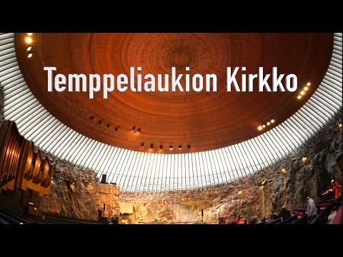 Temppeliaukion Kirkko Helsinki Finland