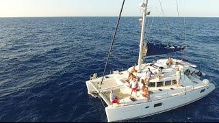 Ibiza catamaran trip 2016