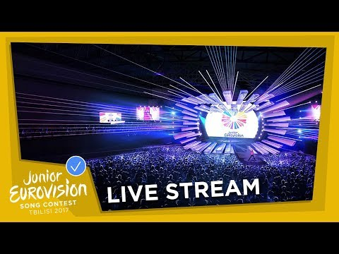 JUNIOR EUROVISION SONG CONTEST 2017 - LIVE STREAM