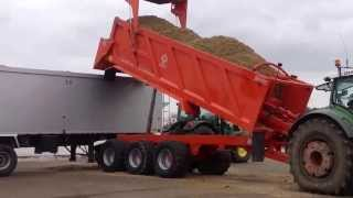 Download Larrington Chaser Trailer Unloading Maize in to Commercial Lorry Mp3 and Videos