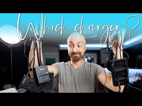 The BEST Chargers For Sony A7iii, A7Riii, A9, A7Riv