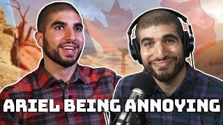 Ariel Helwani annoying fighters for 3 minutes..