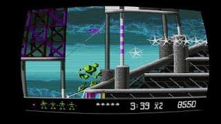 SEGA Genesis Classics collection vectorman going 60 secs kills on enemies part.166 PS4
