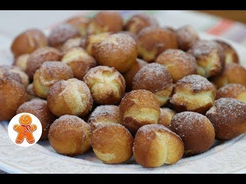Пончики на Сгущенке. Очень Быстрый и Простой Рецепт из Детства