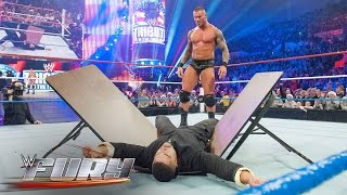 22 times Superstars were powerbombed through tables: WWE Fury