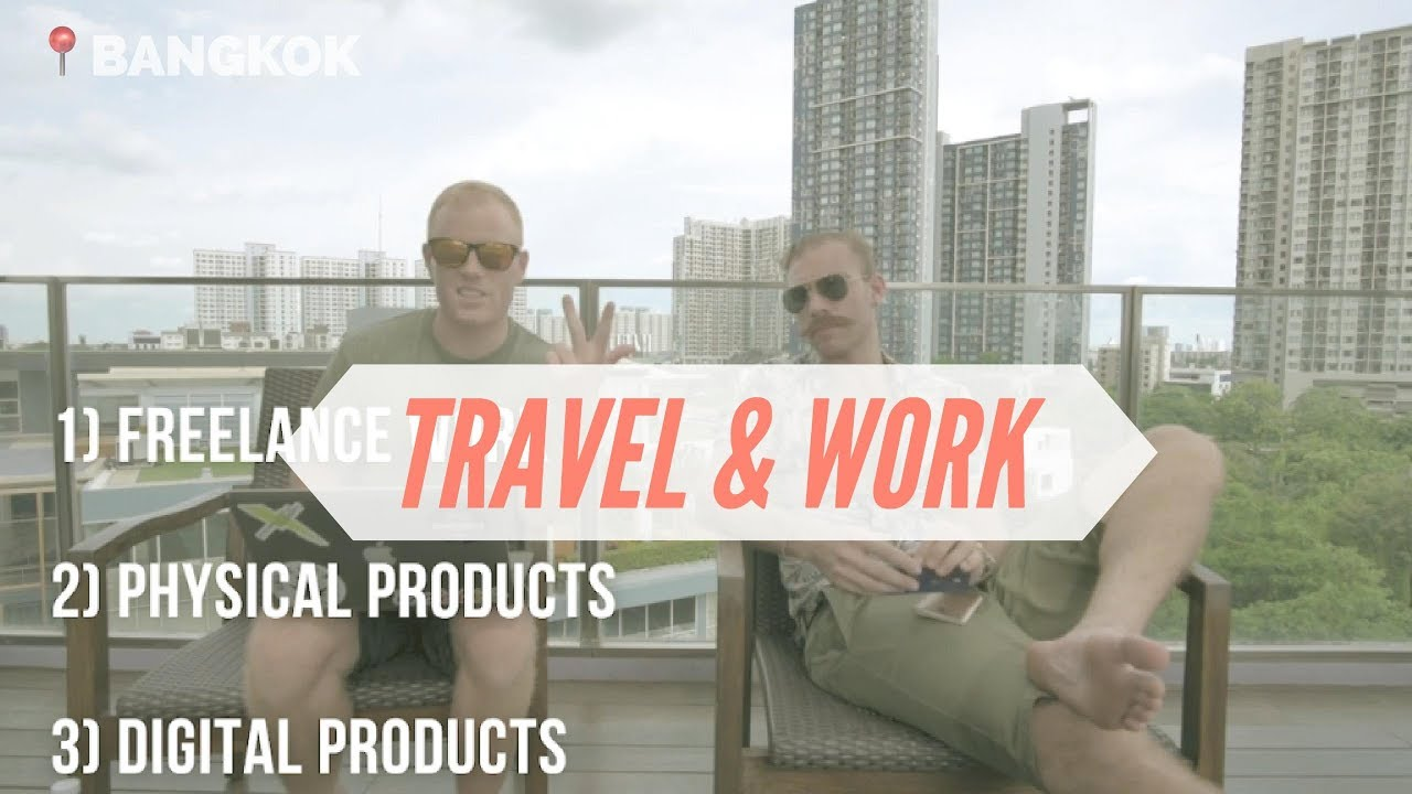 Top 5 Digital Nomad Careers / Jobs – How to Make Money Online & Travel The World