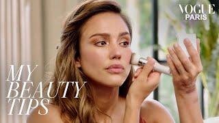 Jessica Alba's Glamorous Bronzed Makeup Look | My Beauty Tips | Vogue Paris