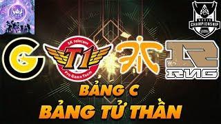 """[CKTG 2019] NHẬN ĐỊNH BẢNG C """"TỬ THẦN"""": SKT T1 - RNG - FNATIC - CG!"""