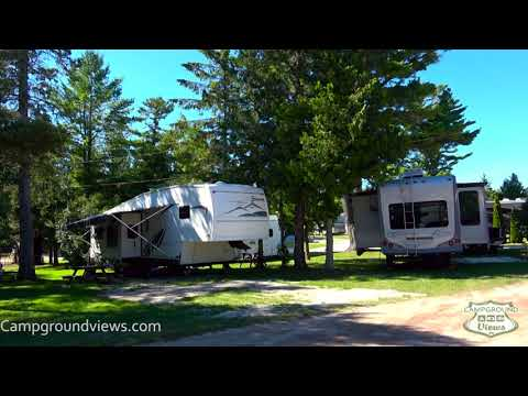 michigan campgrounds with water hookup
