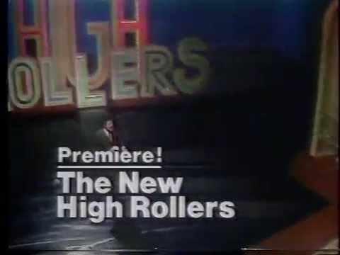 Alex Trebek New High Rollers 1978 NBC Premiere