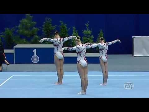 Acrobatic Gymnastics Worlds 2010 Ukraine WG Combined