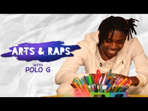 Polo G Answers Kids&39; Questions  Arts & Raps