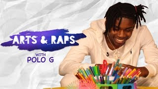 Polo G Answers Kids' Questions | Arts & Raps