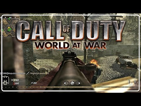 Call of Duty World At War - Multiplayer | Mapa Upheaval de SVT 40 # 9