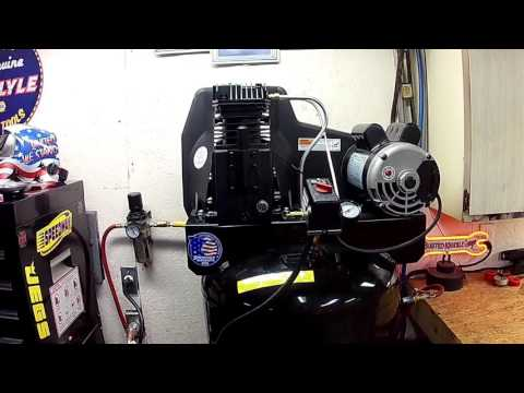 Sanborn air compressor review