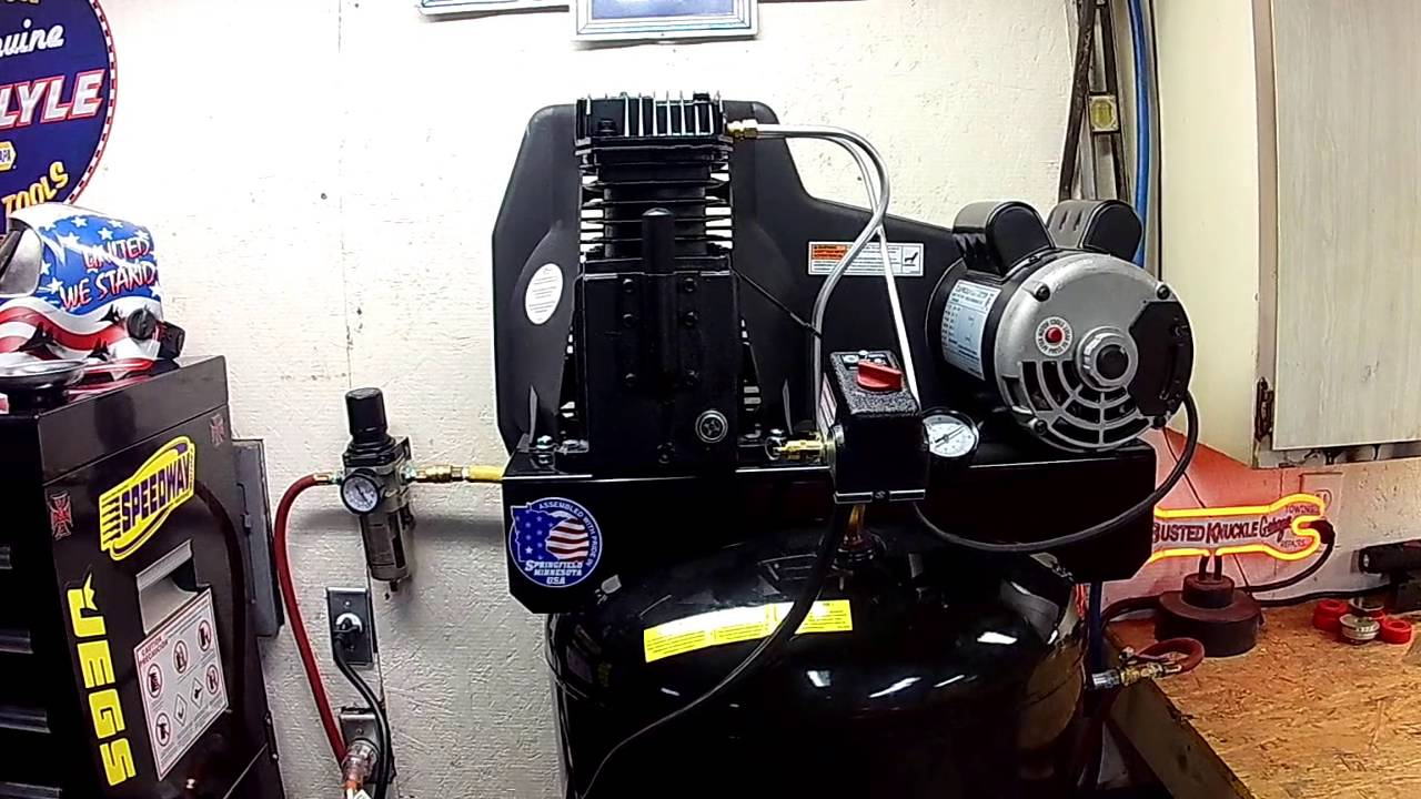 Sanborn Air Compressor Review