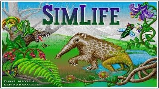 SimLife gameplay (PC Game, 1992)