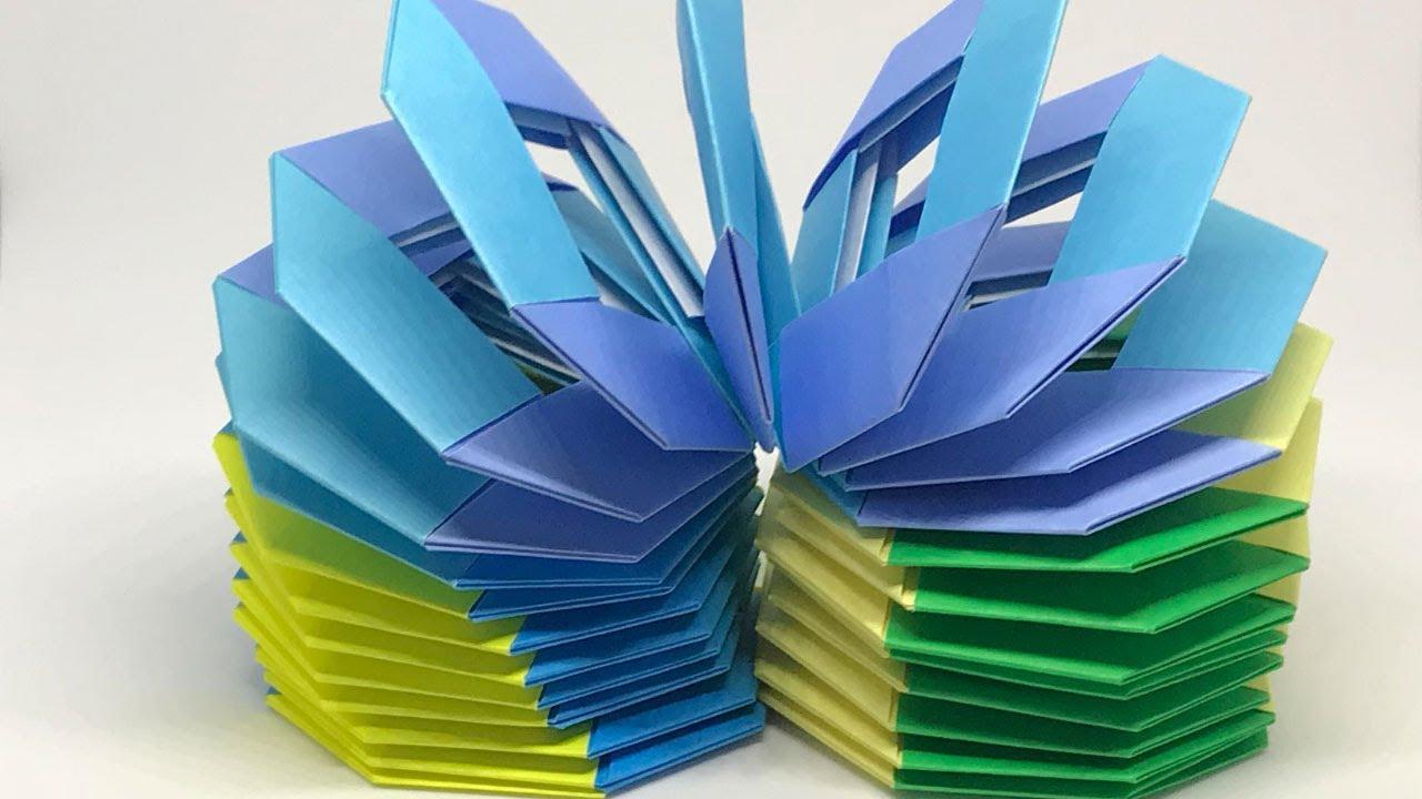 折り紙 スリンキー