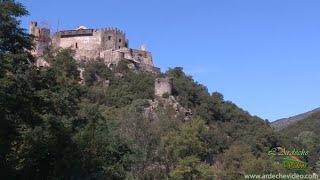 Ardèche - Chateau de Ventadour et la Fontaulière