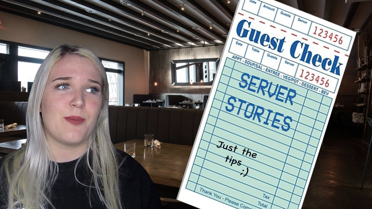 dating a server while I have a real job