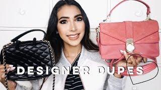 DESIGNER DUPES | CHANEL + GUCCI