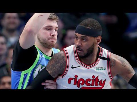 Dallas Mavericks Vs Portland Trail Blazers Full Game Highlights | January 17, 2019-20 NBA Season