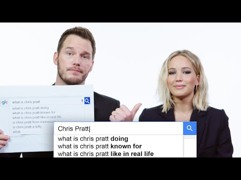 Jennifer Lawrence & Chris Pratt Answer the Web's Most Searched Questions | WIRED