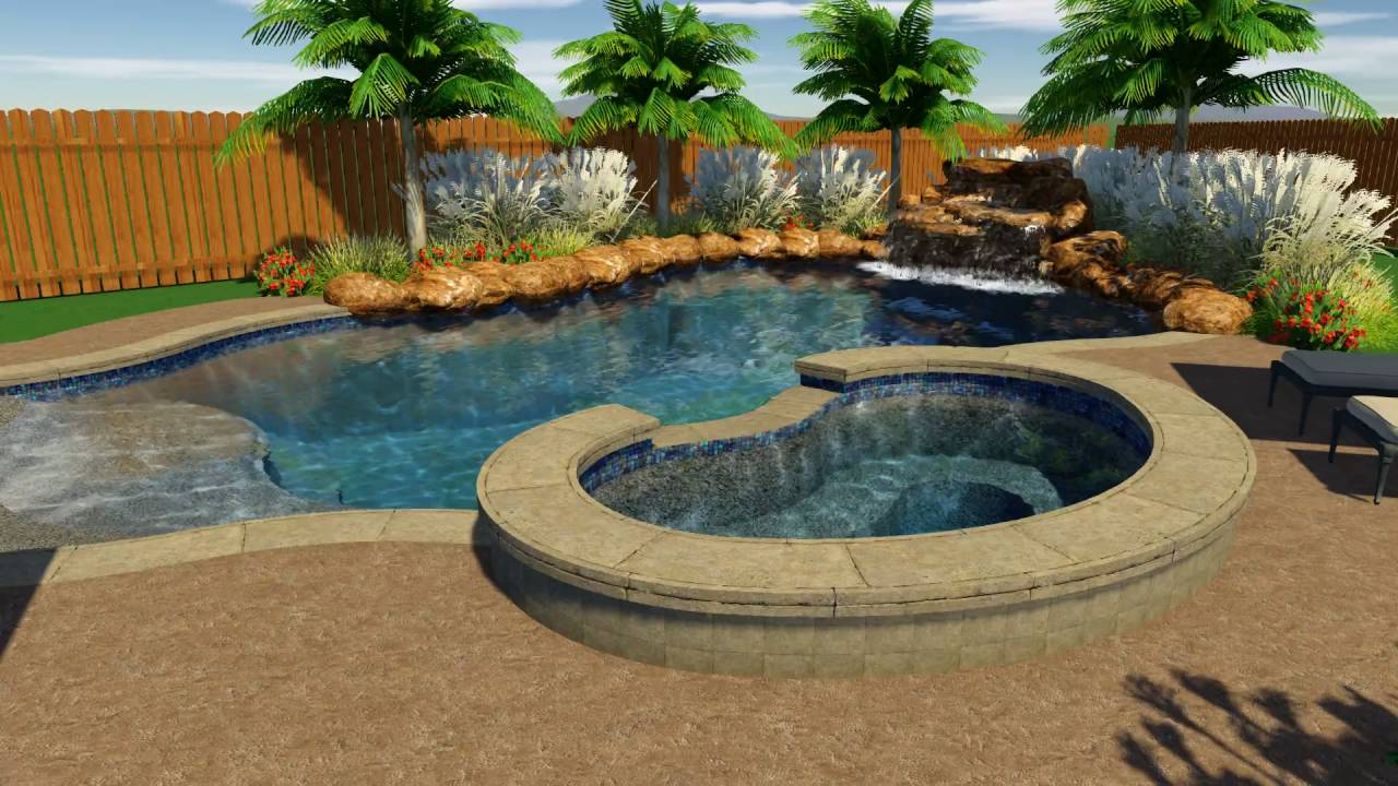 Elegant Gaither Pool Design By Backyard Amenities