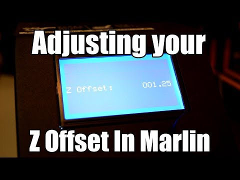 Setting your Z offset the easy way in Marlin