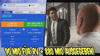 90 Mio für unseren RV? + 880 Mio im Sommer ausgegeben! - Fifa 19 Karrieremodus Juventus Turin 156