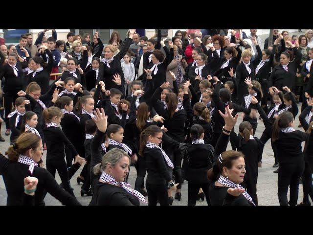 Flashmob Flamenco de la Academia Mpal. de Baile de Cartaya