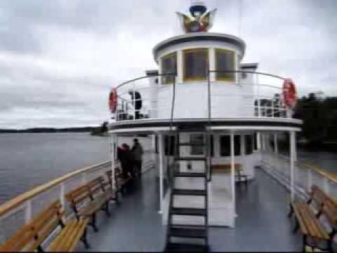 Muskoka Lake Steamer Cruise
