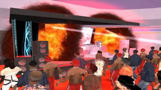 gta san andreas-show do skrillex 「HD」
