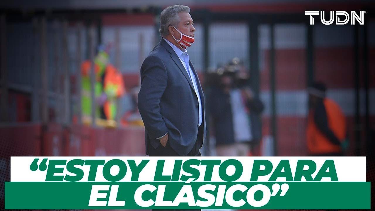 """Vucetich de cara al Clásico: """"Enfrentarse al América es algo muy gratificante"""" I TUDN"""