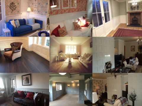 Sharing With You Lots of Gorgeous Looking Living Rooms with Wall Panelling