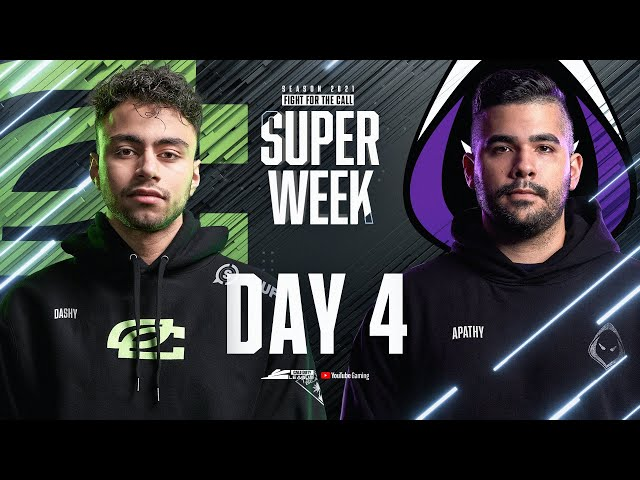Call Of Duty League 2021 Season | Stage I Super Week | Day 4