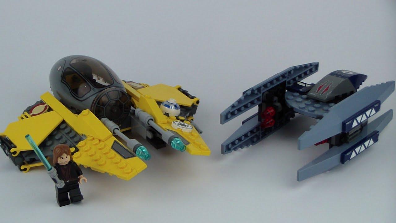 LEGO Star Wars 7256 Jedi Starfighter & Vulture Droid ...